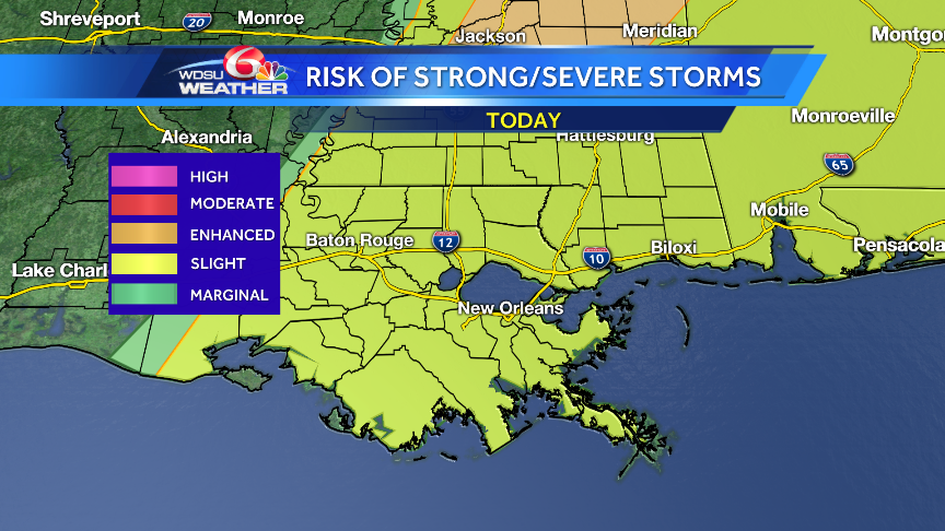 First Alert Weather Days: Few strong, severe storms possible both Thursday, Friday
