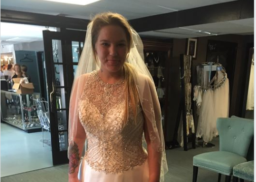 Mother of Waffle House shooting survivor buys wedding dress for waitress that helped her son