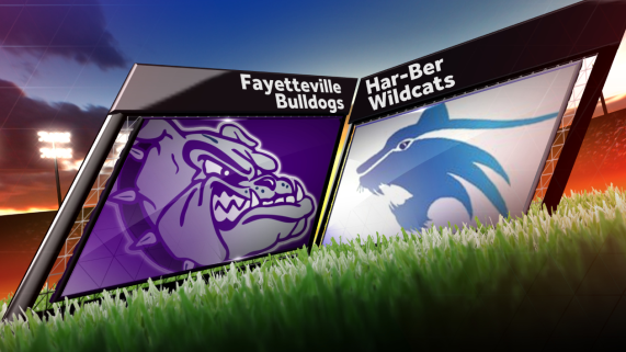Fayetteville Bulldogs at Har-Ber Wildcats