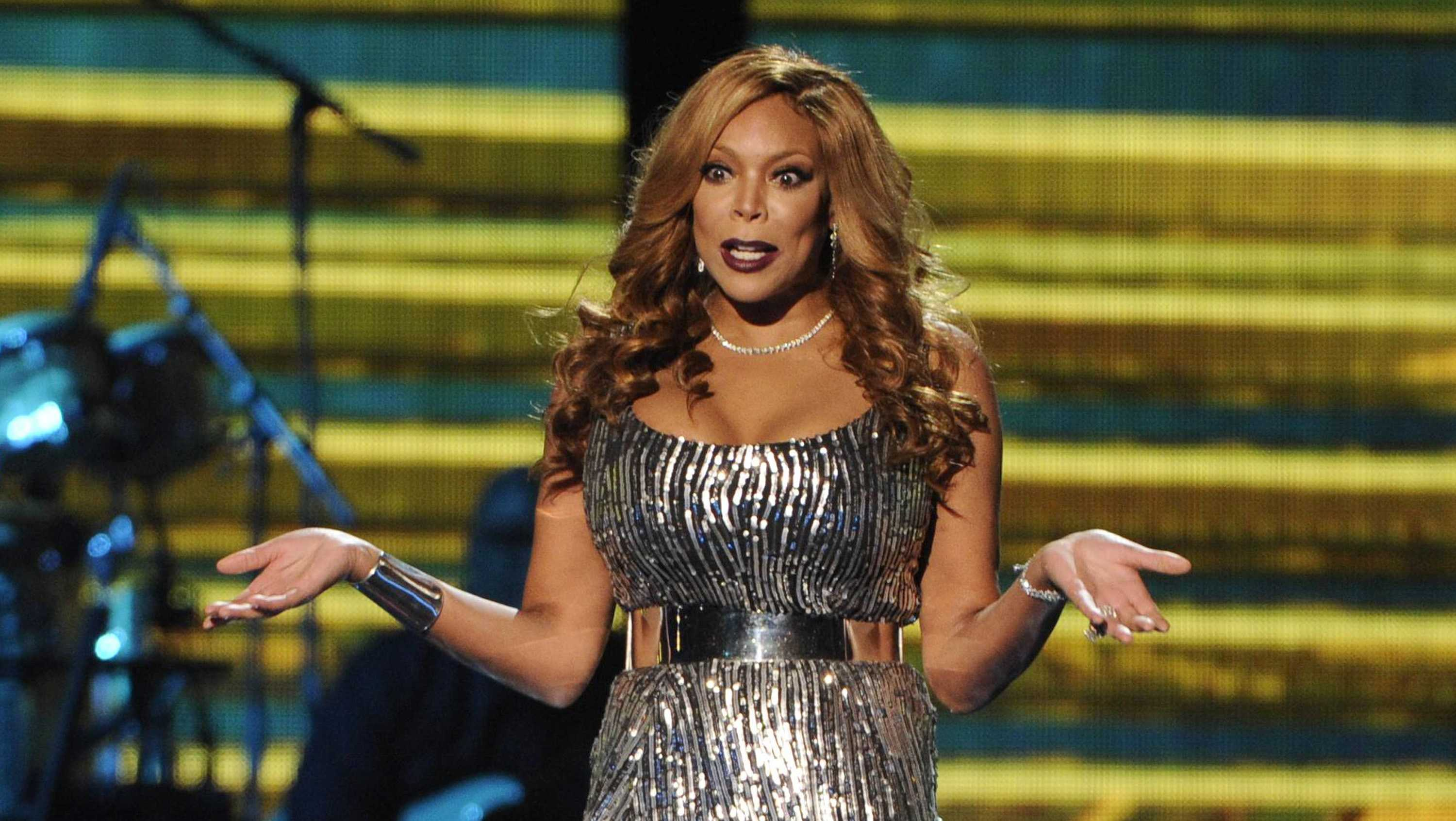 Wendy Williams speaks onstage at the 2014 Soul Train Awards at Orleans Arena on Friday, Nov. 7, 2014, in Las Vegas.