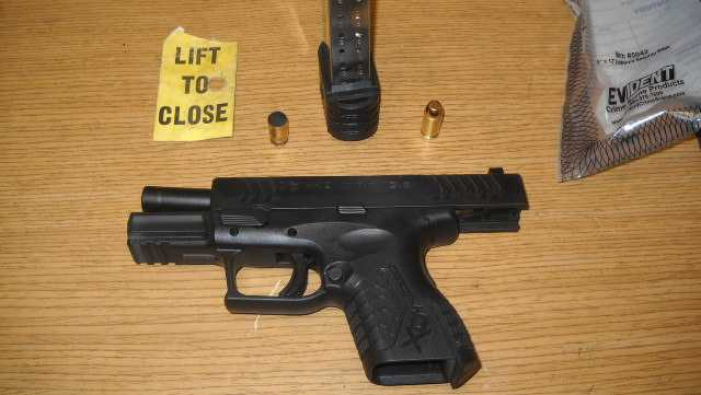 Gun fired in house, police say