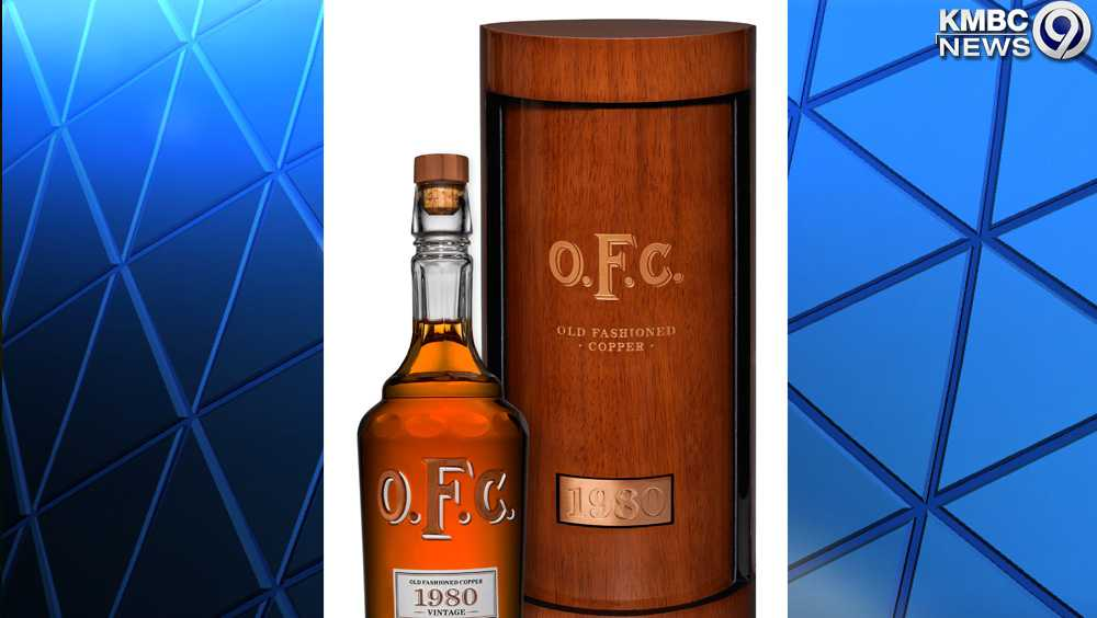 Rare whiskey up for auction
