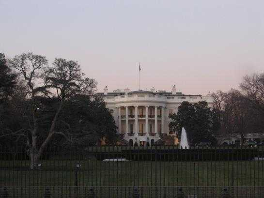 Law enforcement: Man shot himself outside White House