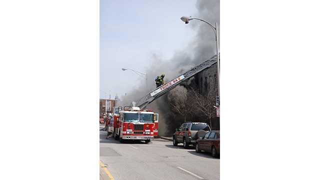 Wilkens Avenue fire