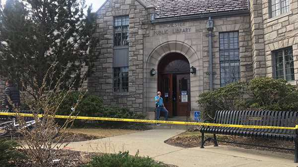 Woman stabbed to death at MA library