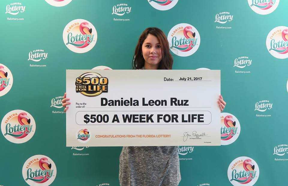 Florida Teen Wins $500 a Week for Life Playing $1 Scratch-Off