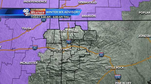 Slippery mess to linger into Tuesday morning