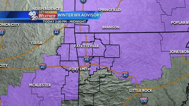 Freezing Rain Could Make Surfaces Icy Today