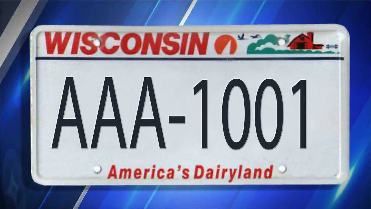Wisconsin, License Plates,