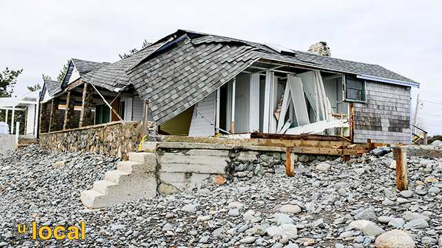 North Hampton Beach Storm Damage