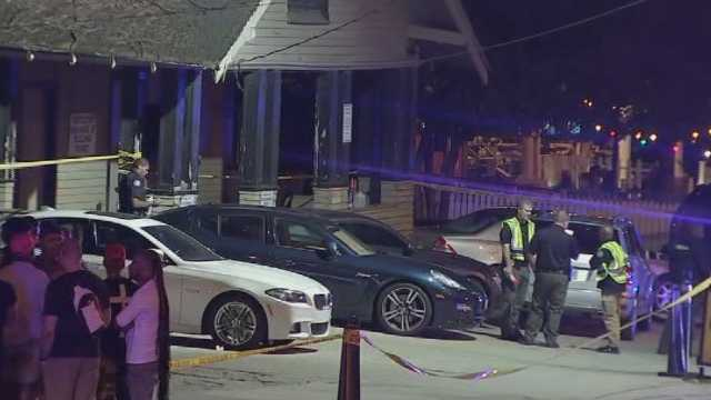 Woman dead after incident by restaurant on Saturday, April 15, 2017, in Atlanta