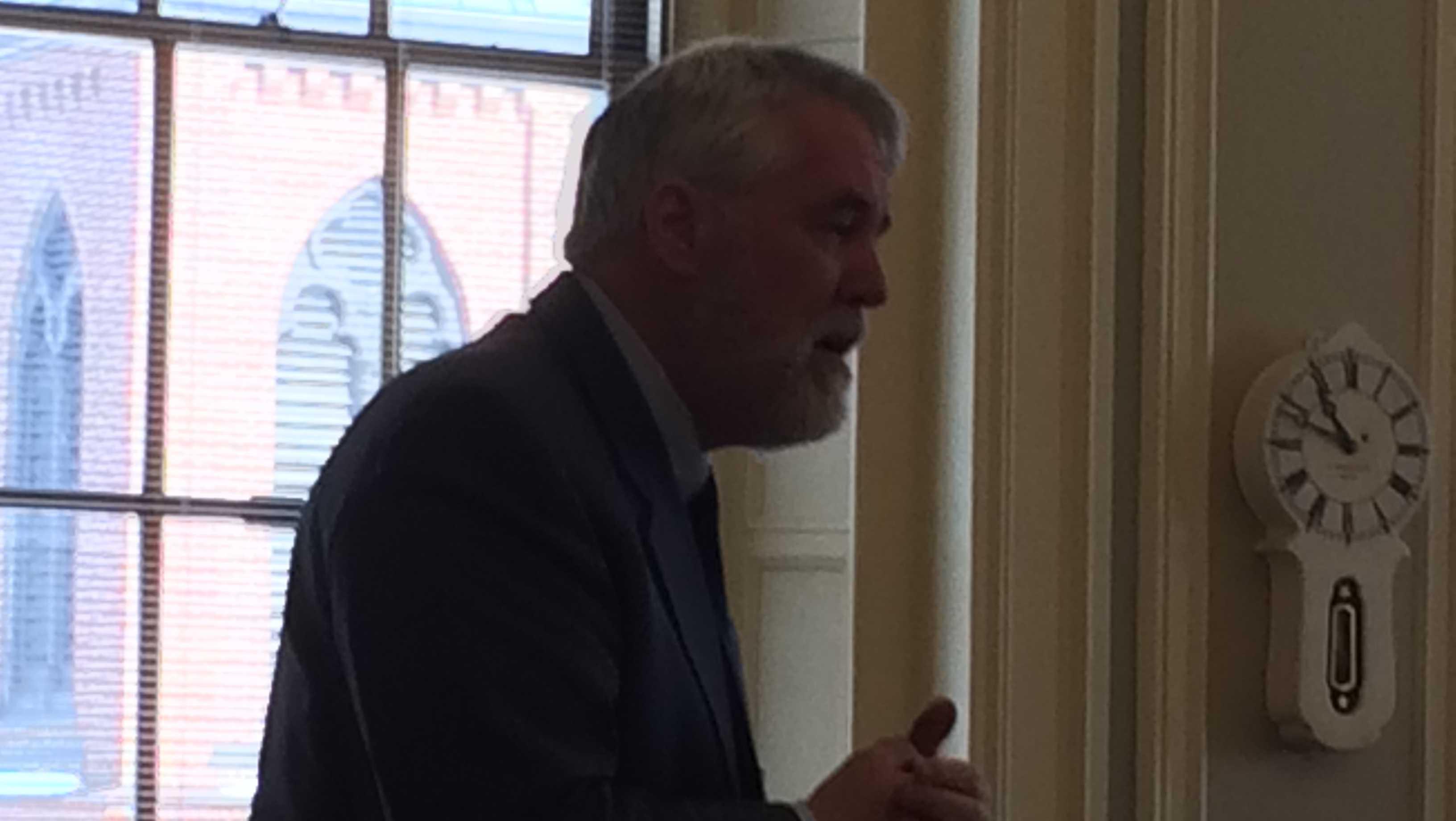 Senate Democratic Leader Jeff Woodburn