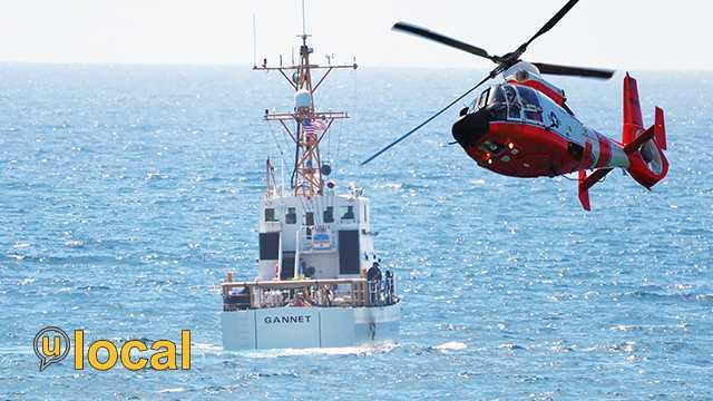 Boca Beach Coast Guard Search