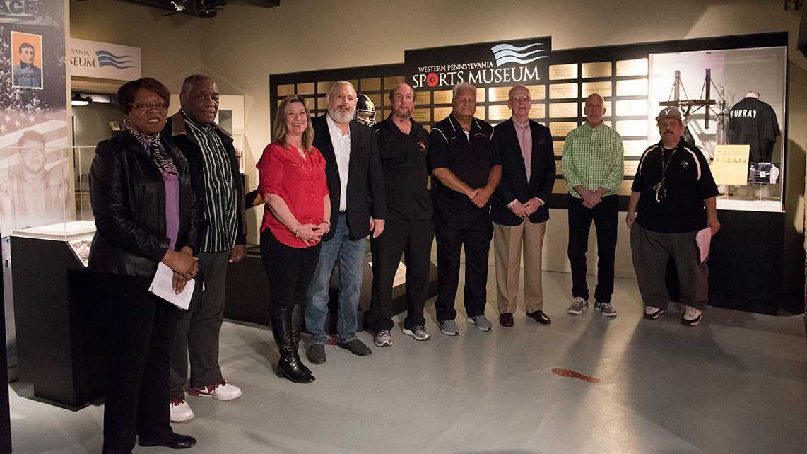 Members of the 2018 WPIAL Hall of Fame class
