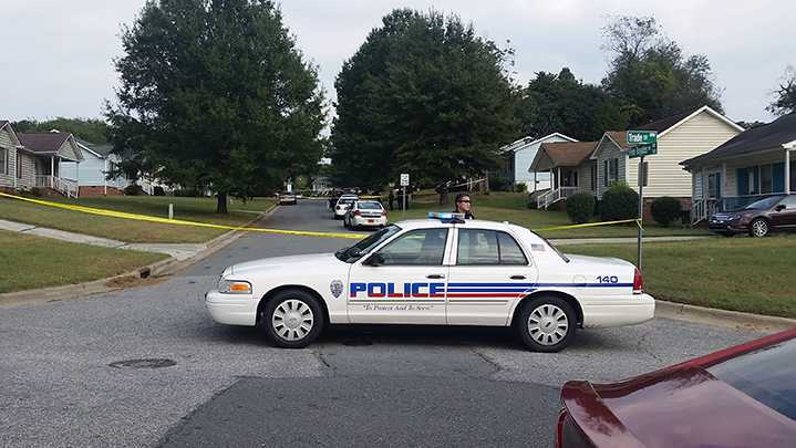 Four people were found shot in Winston-Salem Monday afternoon.