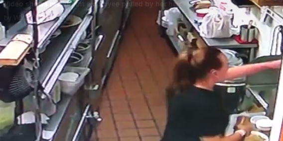 Video shows SC restaurant employee pulled by her hair