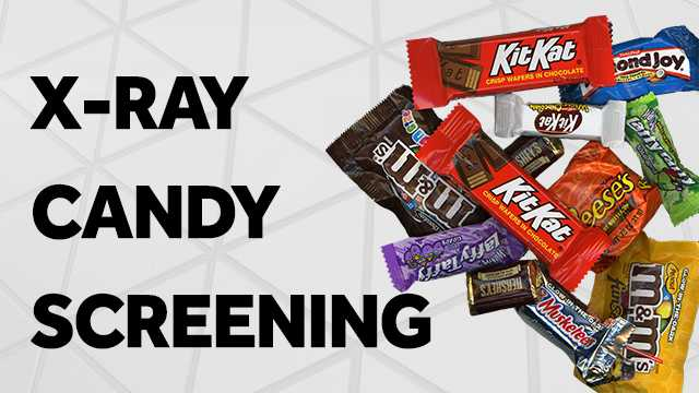 x-ray candy screening