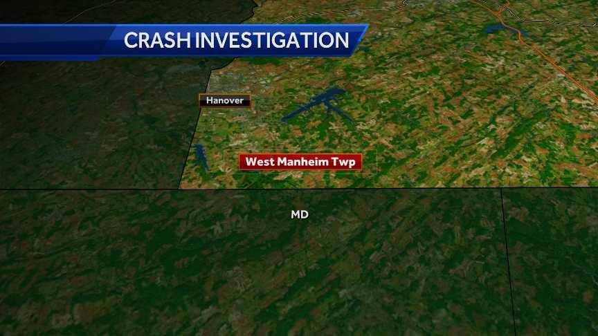 York County crash map