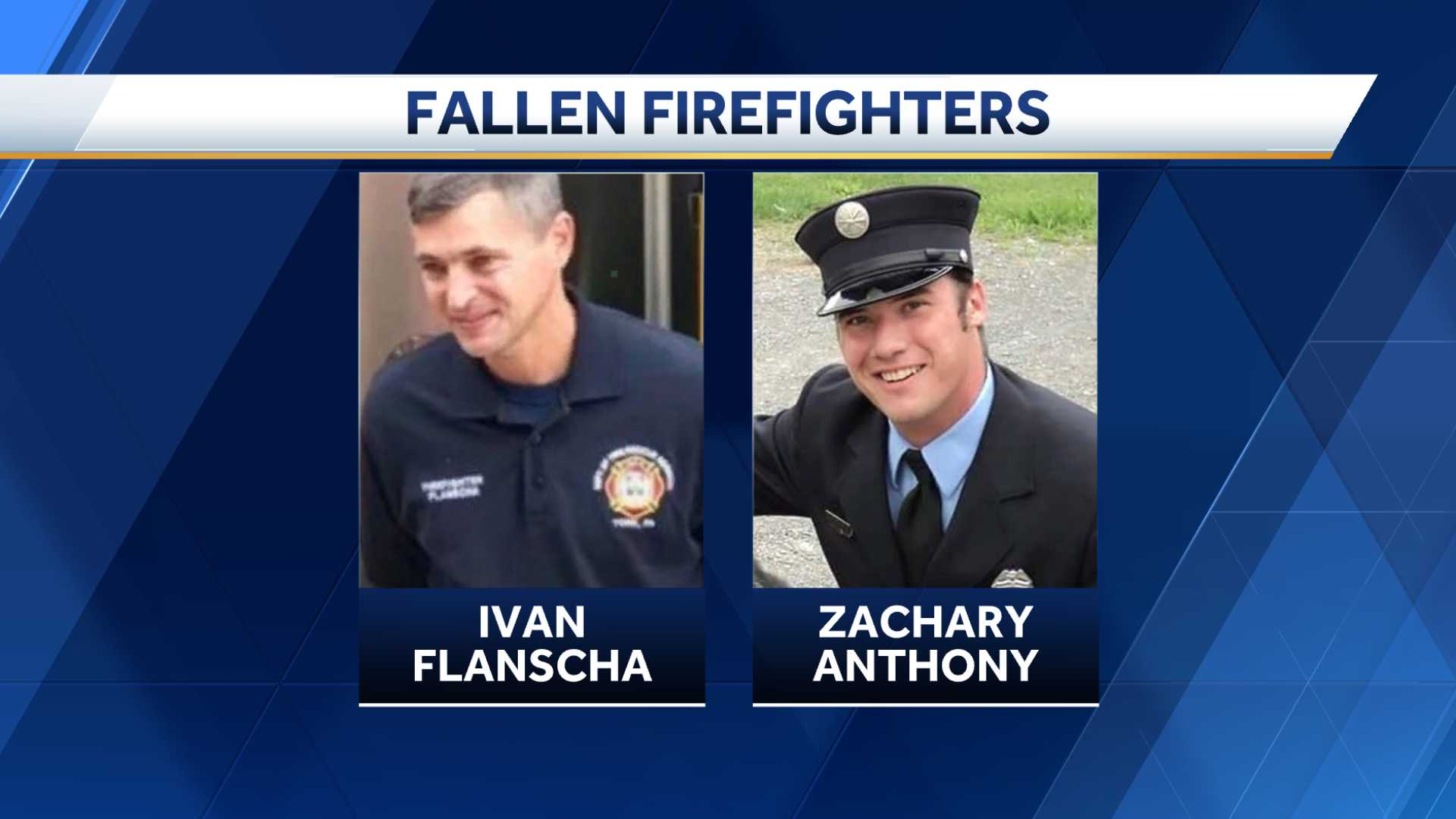 York firefighters killed, Ivan Flanscha and Zach Anthony