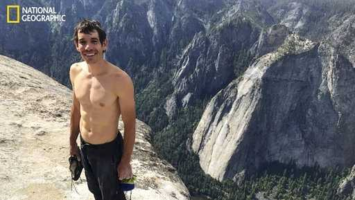 Alex Honnold, 31, climbed the mighty El Capitan in Yosemite National Park on Saturday, June 3, 2017, without any safety gear.