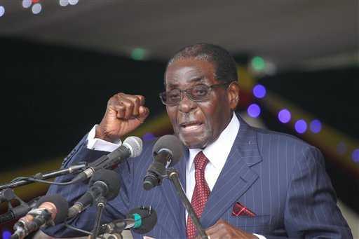 Zimbabwe's Robert Mugabe granted immunity, military says