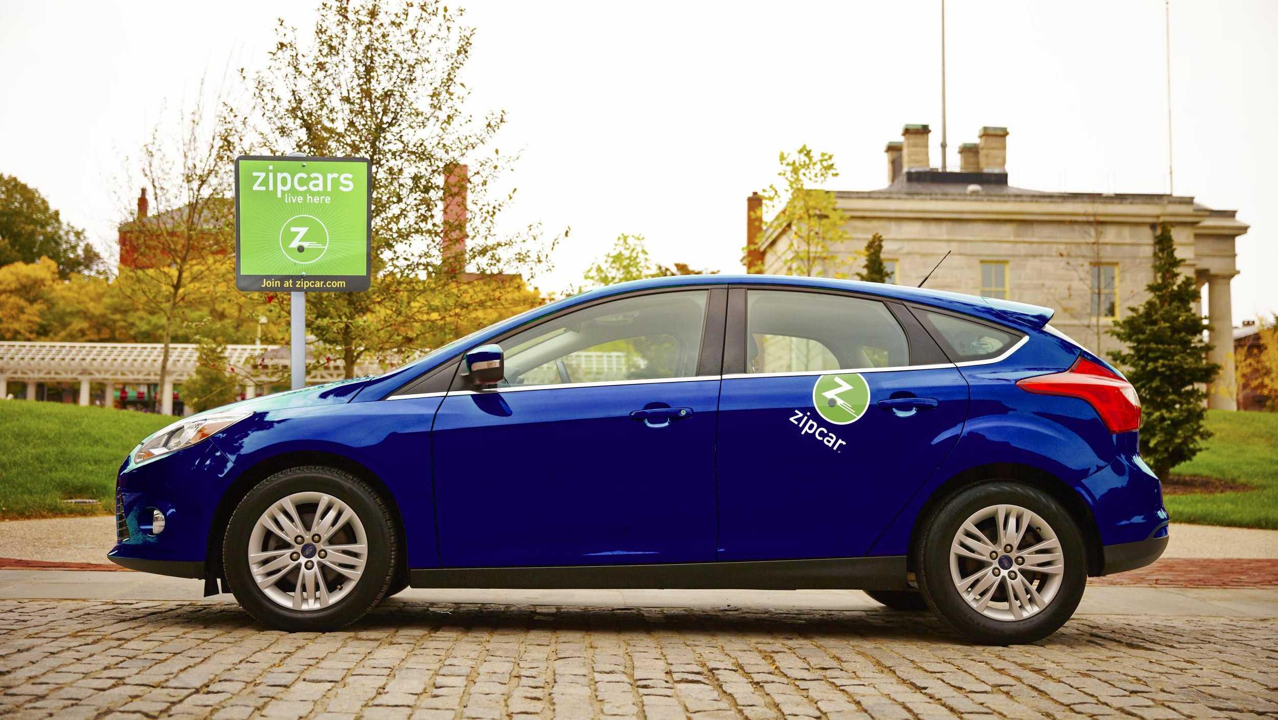 Zipcar stock image
