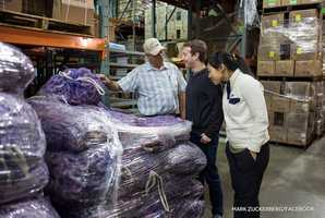 Facebook CEO Mark Zuckerberg tours Alabama