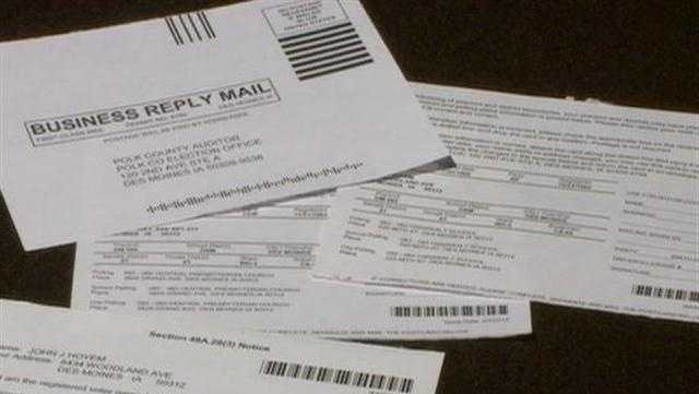Some Voter Registration Cards Contain Errors