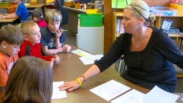 Mrs. Crane's Class Wins Classroom of Character