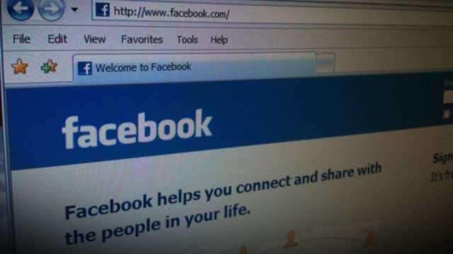 Facebook homepage 2