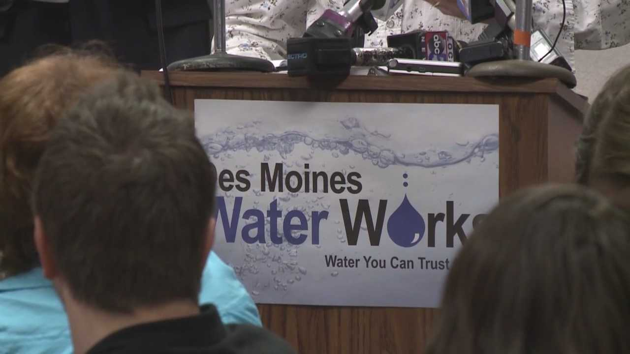 The Des Moines Water Works will sue three northern Iowa counties.