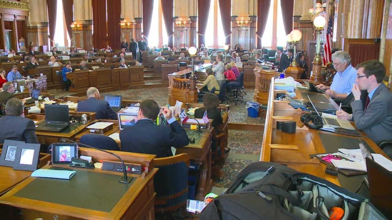 Lawmakers working on their last days at the Statehouse are still considering the bill.
