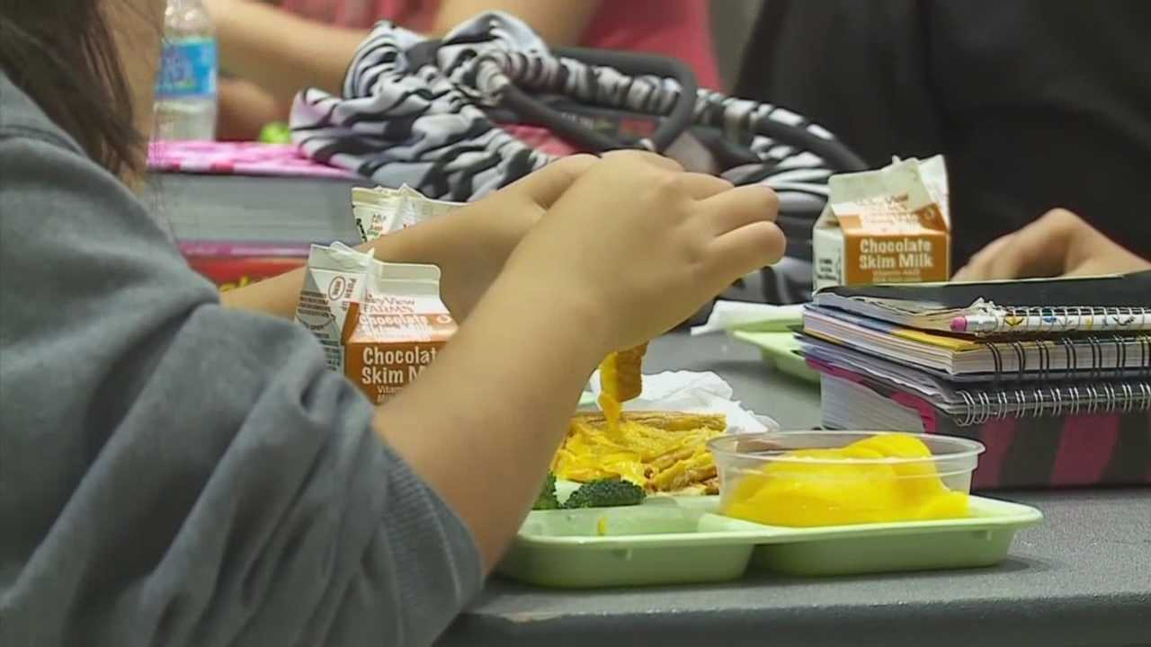 Students will receive free meals through the National School Lunch and School Breakfast programs.