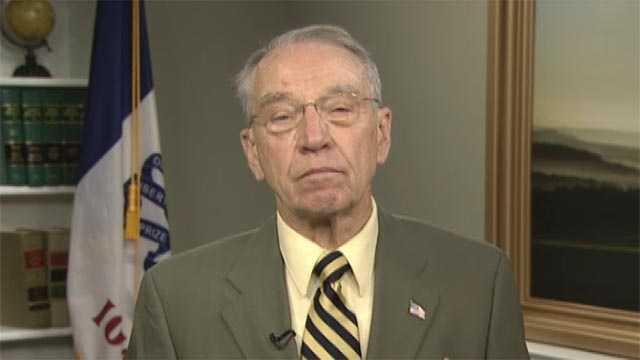 Iowa Senator Charles Grassley