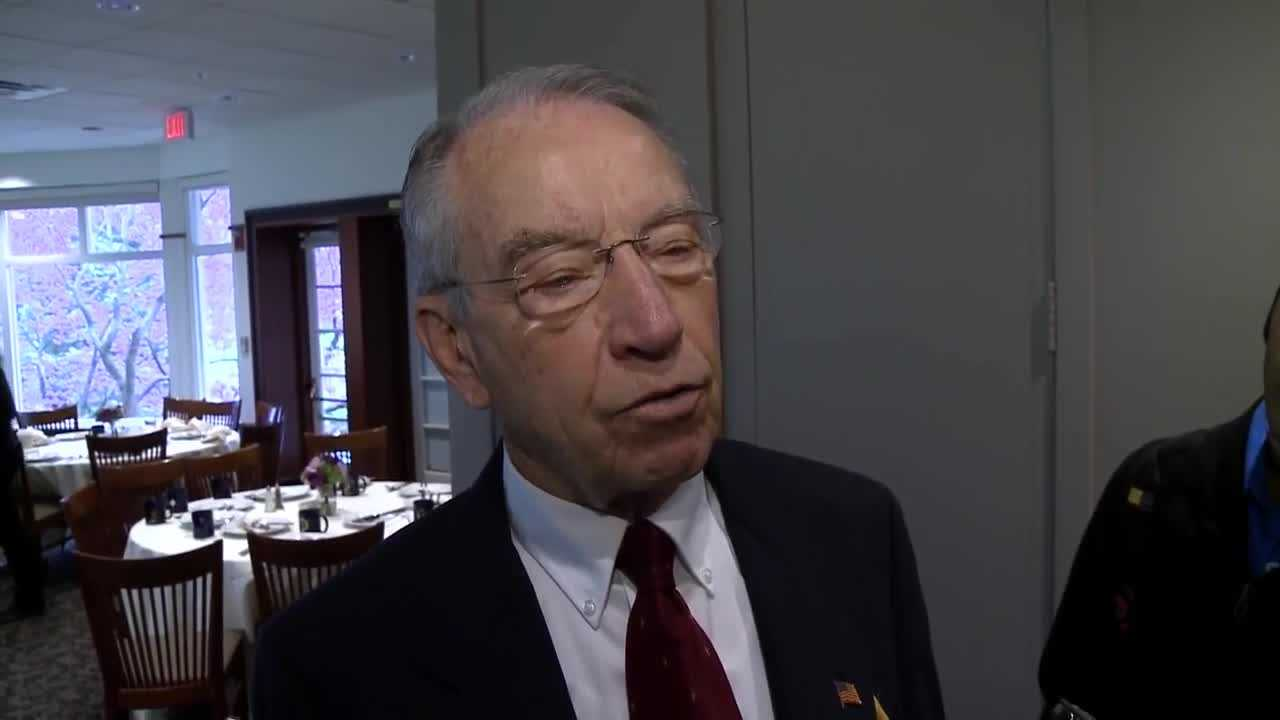 Grassley says this is toughest reelection in decades