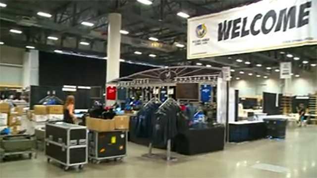 Wizard World Comic Con in Des Moines Iowa
