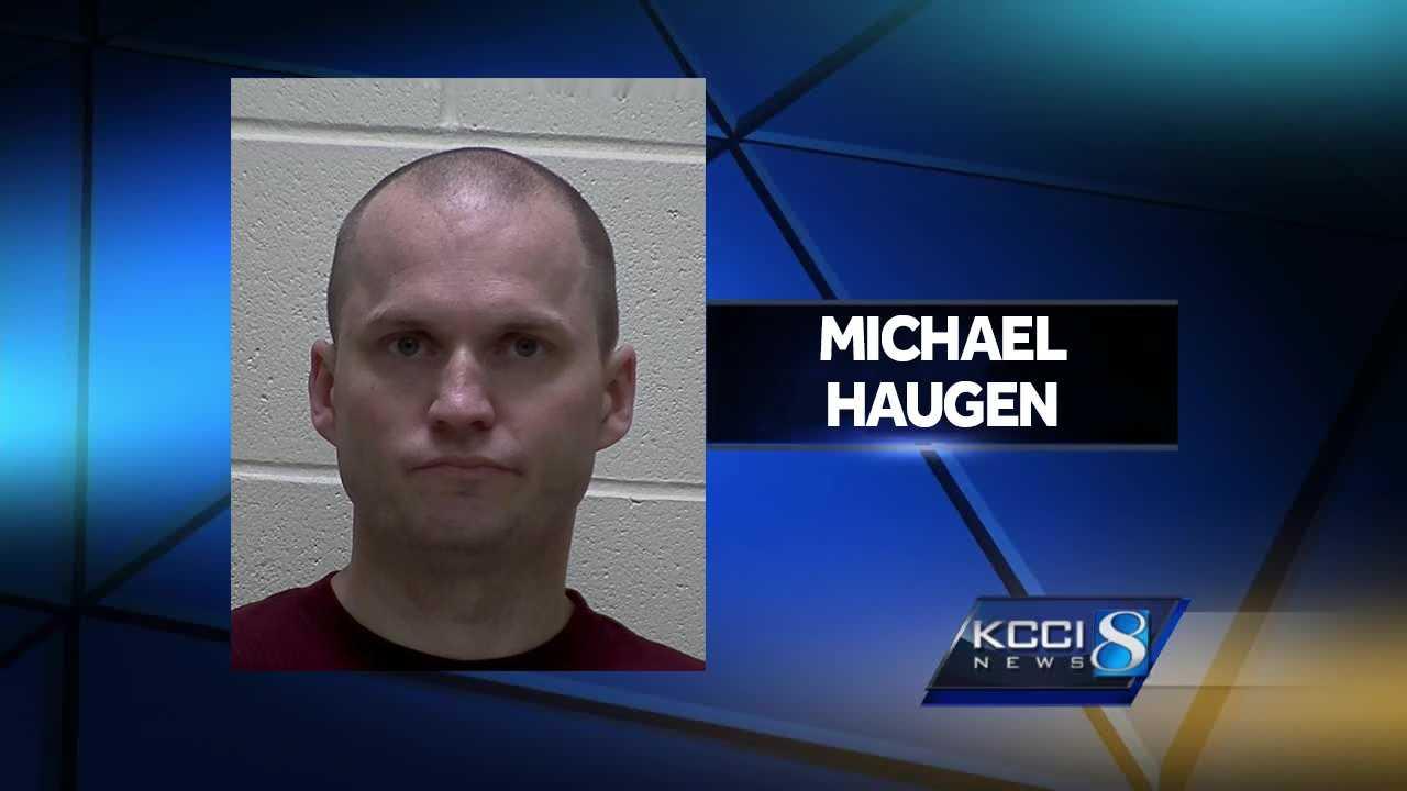Former Iowa State Patrol Sgt. Michael Haugen