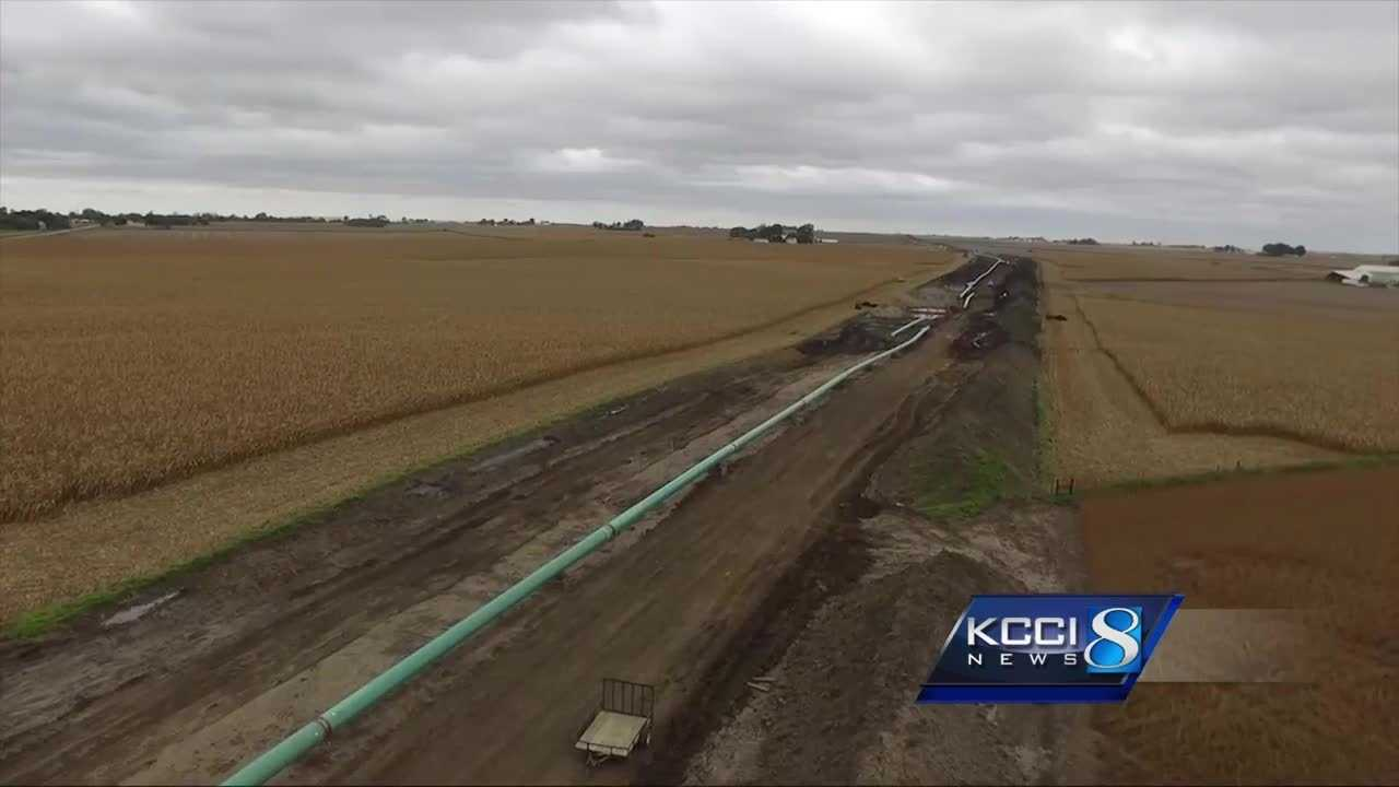 Bakken pipeline halfway finished in Iowa