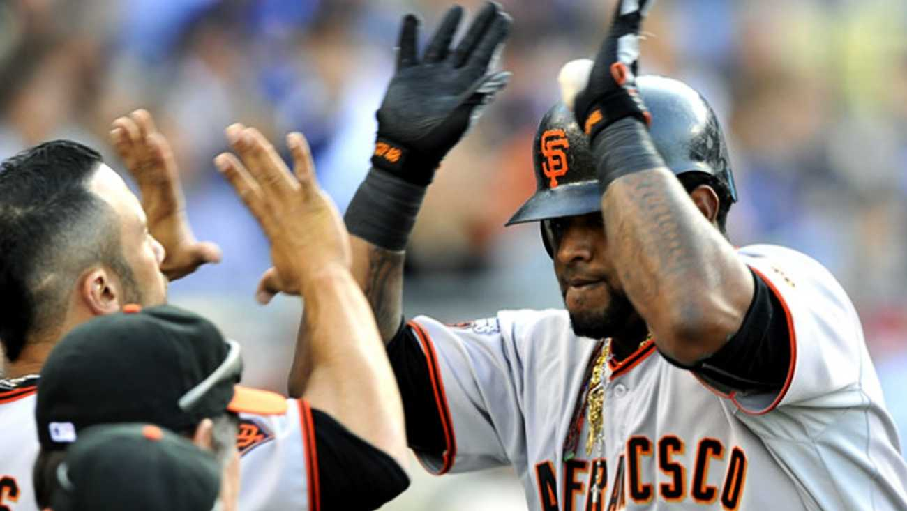 Sandoval played in the 2012 Major League Baseball All-Star Game this week, and he drilled a line-drive to right field for a three-run triple.On Thursday his lawyer said Sandoval will continue focusing on helping the Giants make the playoffs this season.