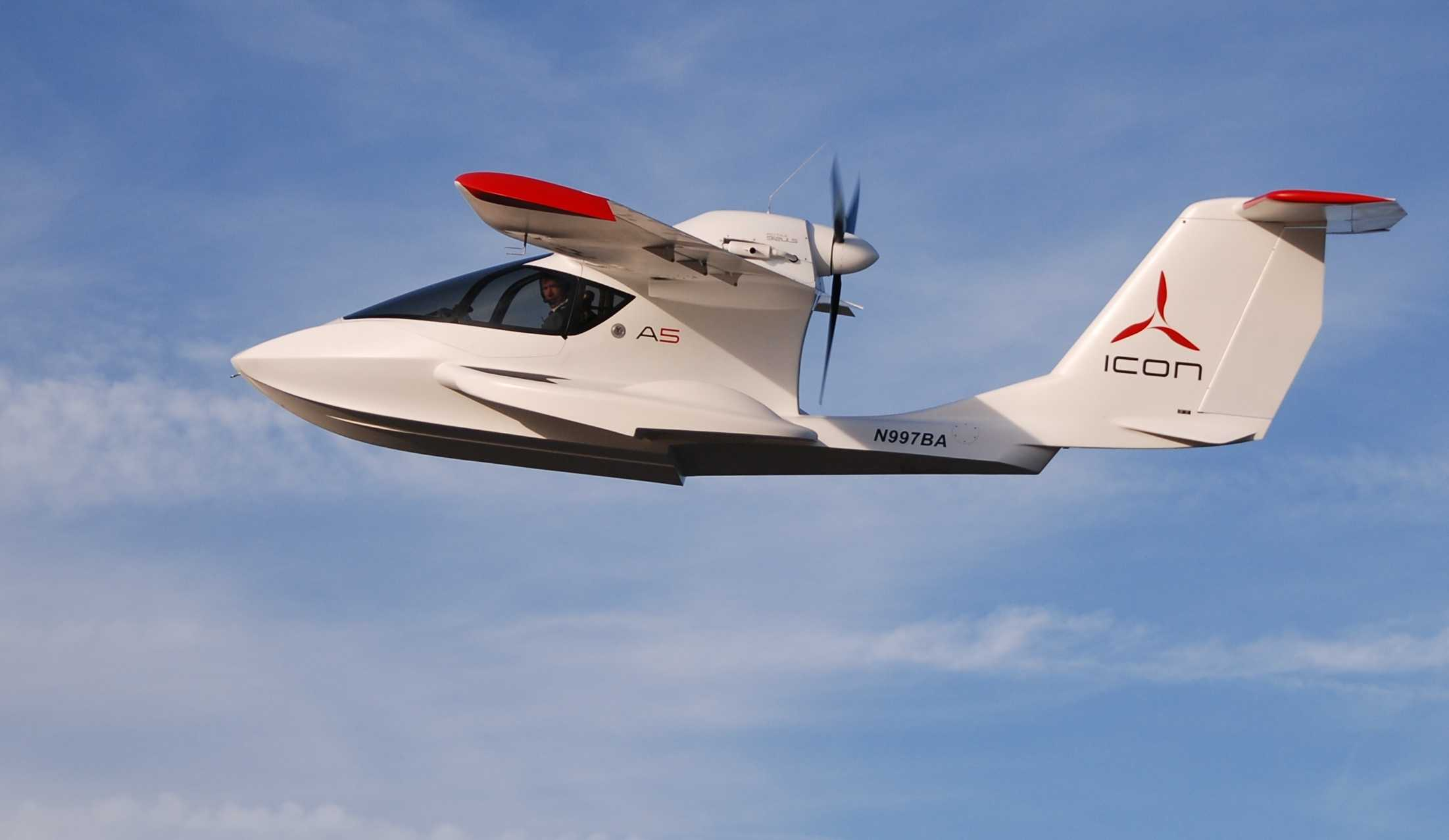 ICON is the maker of the amphibious light-sport A5 aircraft. Click through this slideshow to see