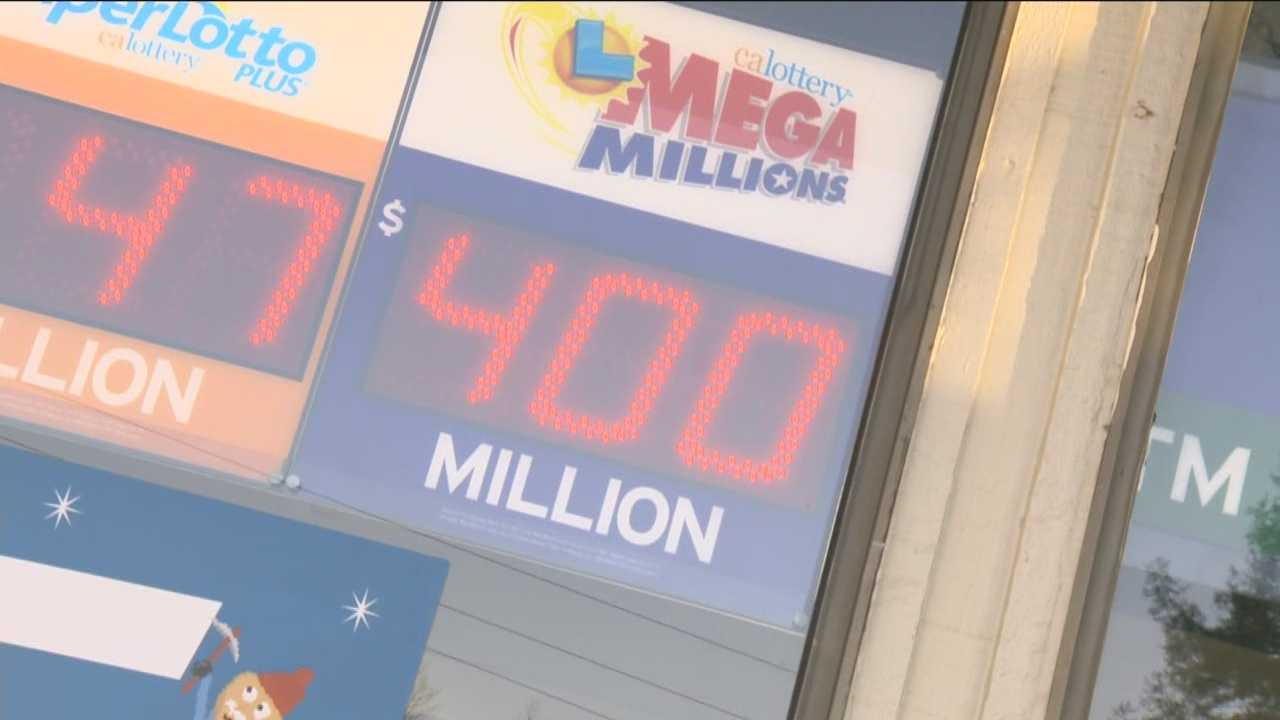 It may be Friday the 13th, but some are hoping luck is in the favor with the Mega Millions jackpot up to $400 million.
