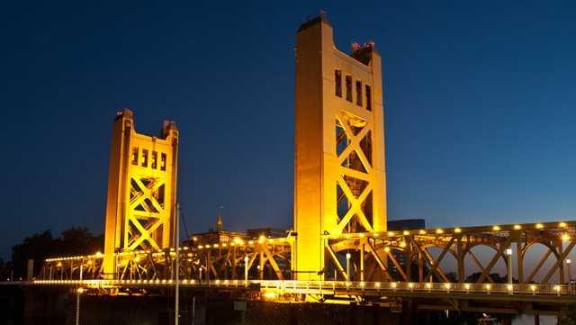 Sacramento's Tower Bridge