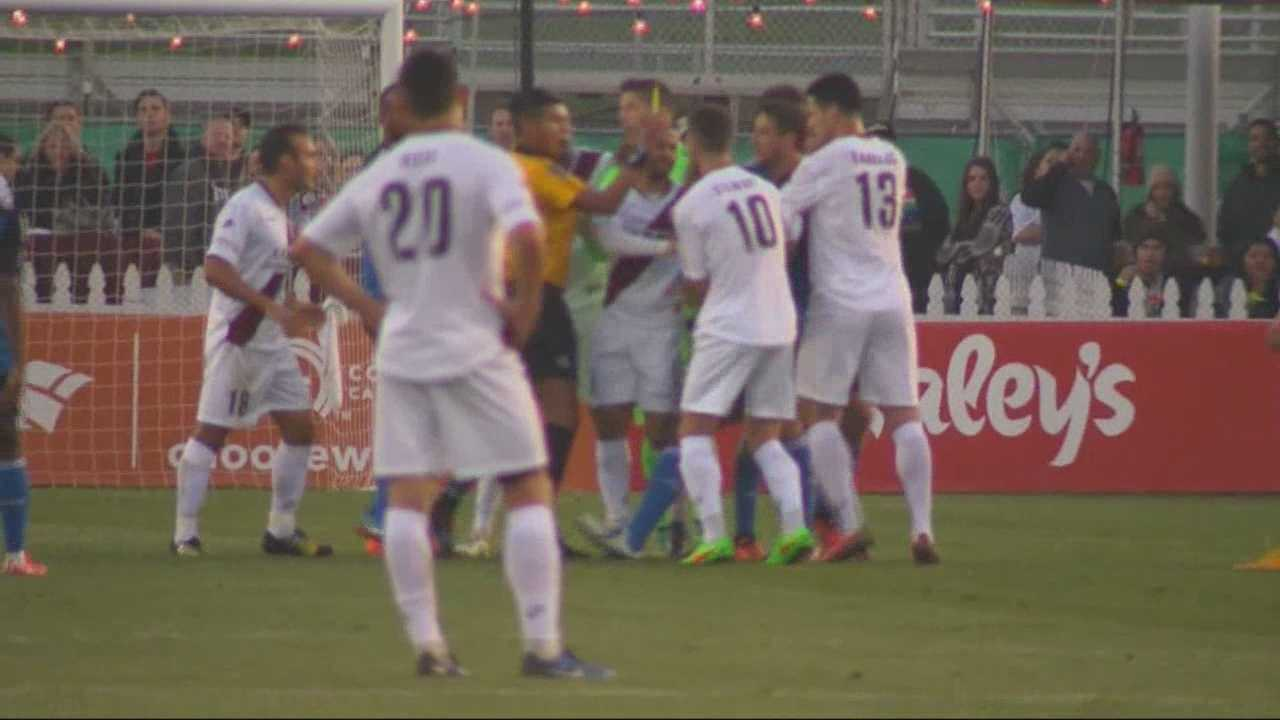 A crowd of over 9,000 cheered on the Republic FC in their 2015 home opener against the San Jose Earthquakes.