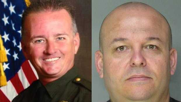 Deputies Mike Davis and Danny Oliver