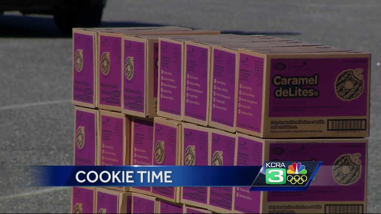 California Girl Scout sells 312 boxes of cookies near pot dispensary