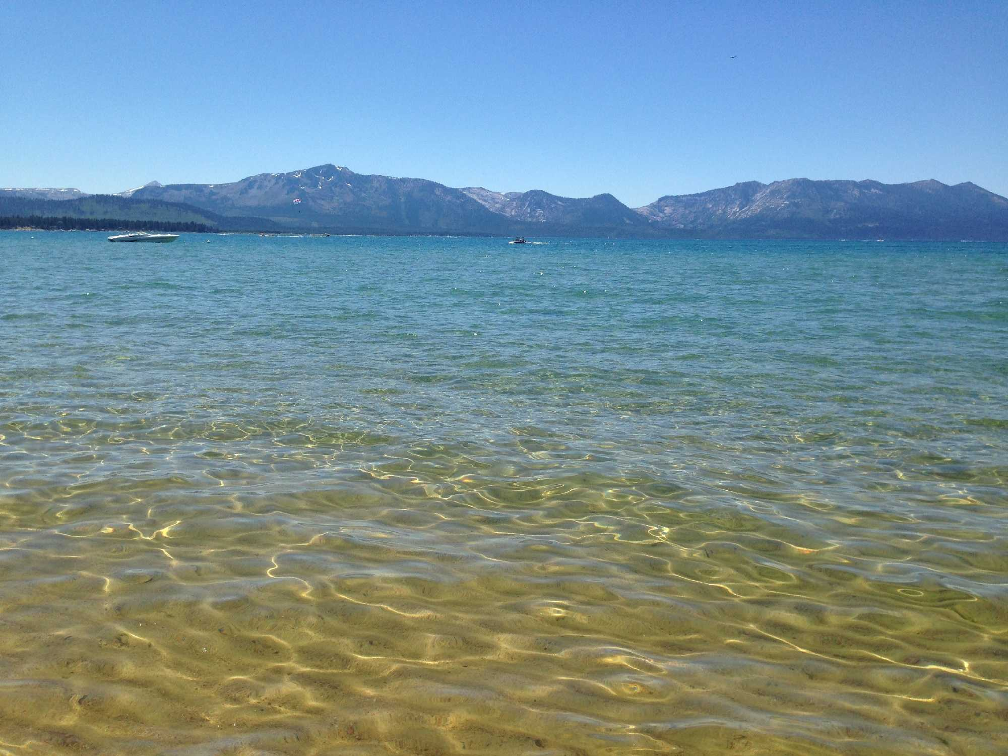 Experts climate change decreases lake tahoe 39 s clarity for Summer lake