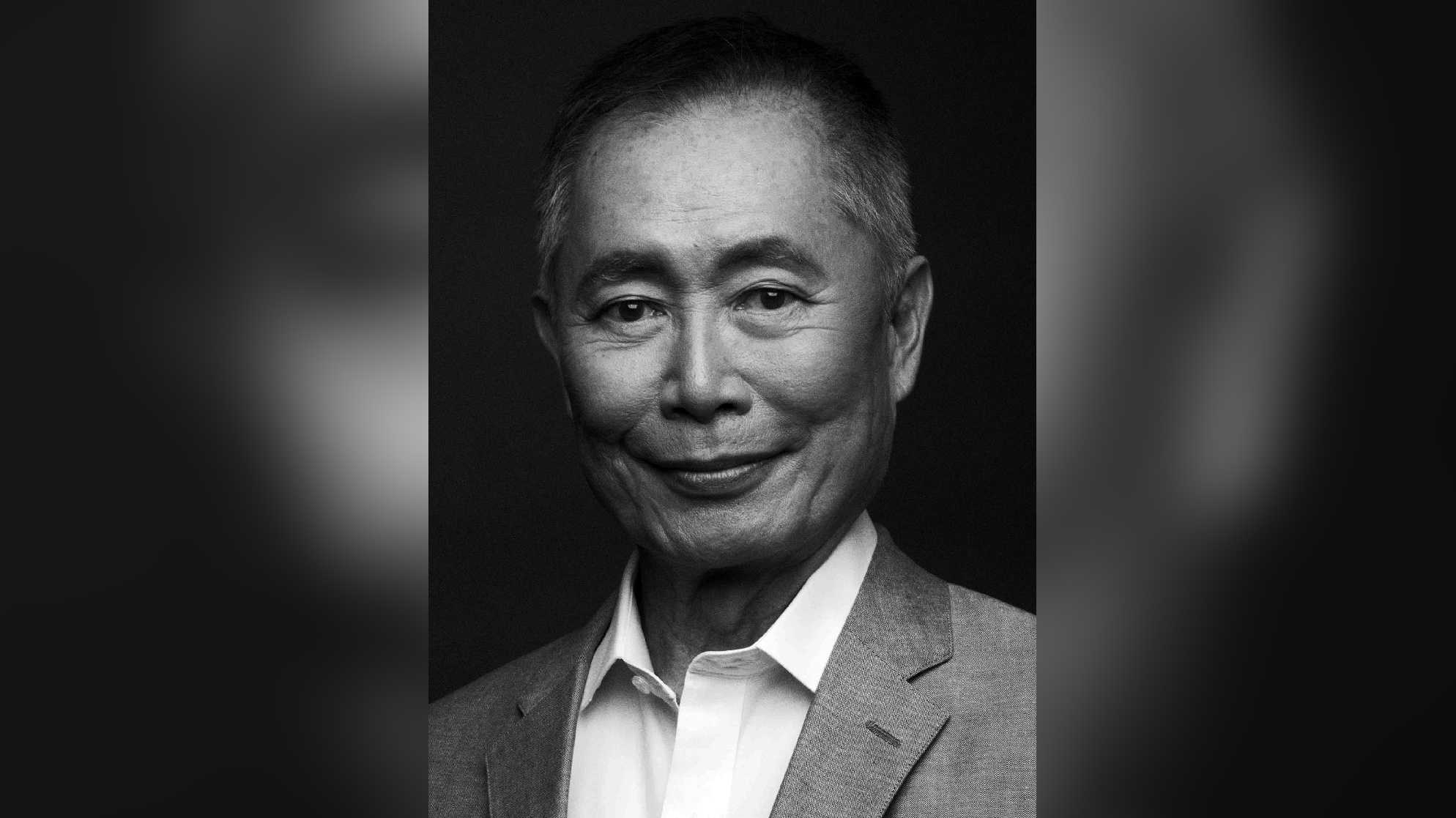 Celebrated actor and activist George Takei