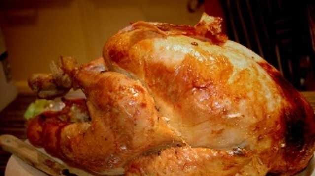 According to statistics from the National Turkey Federation, an average person consumes three pounds of poultry on Thanksgiving.