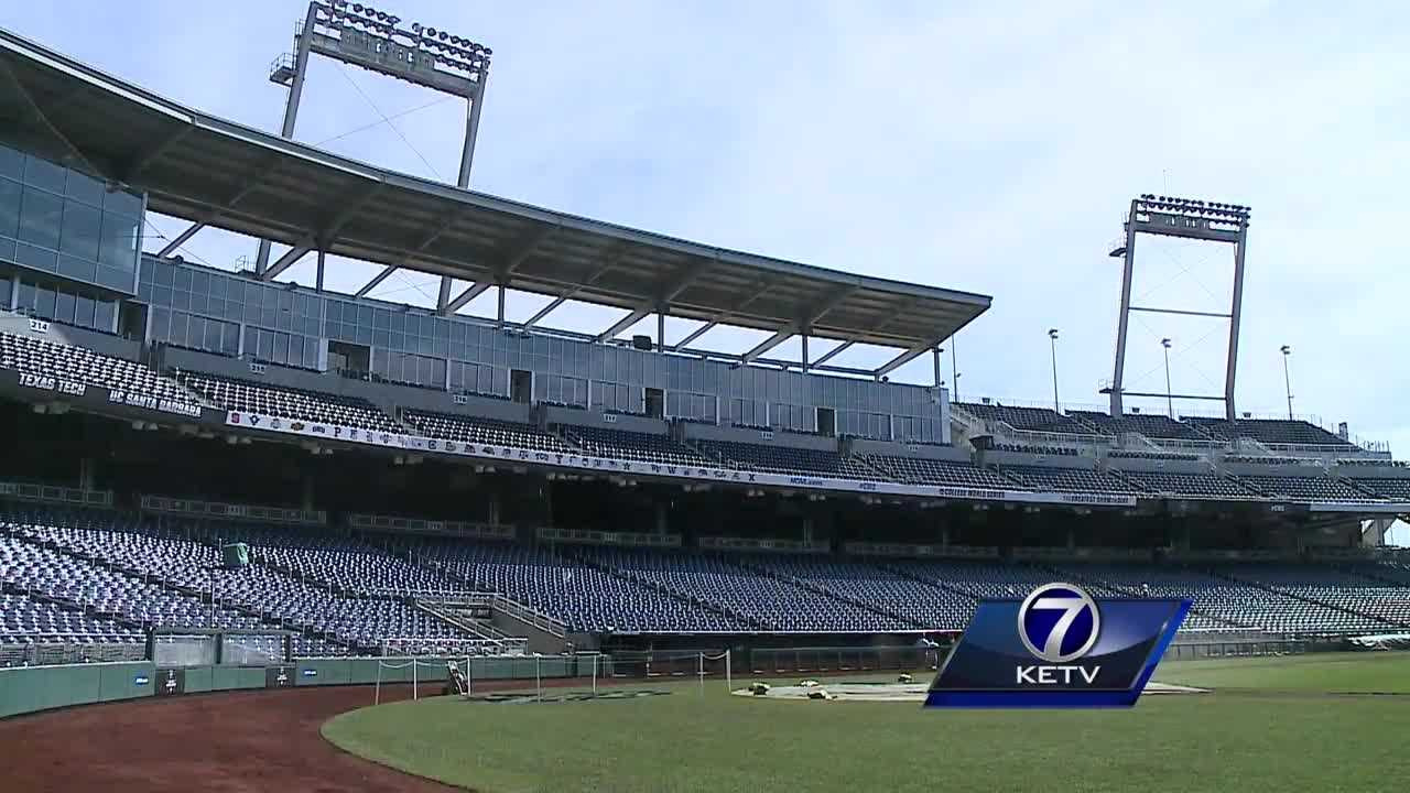 As the College World Series reaches its midway point, it's glaringly evident that fewer fans are soaking up the experience.