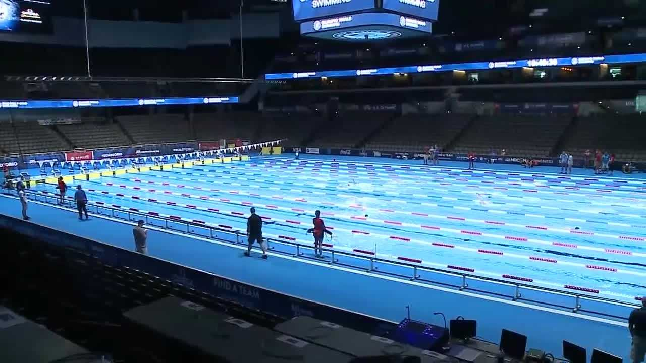 It seems like everywhere you look, there's excitement for the Olympic swim trials -- and it's growing.